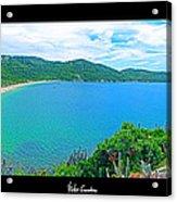 Beach Panorama - Brasil Acrylic Print