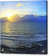 Beach Panorama Acrylic Print