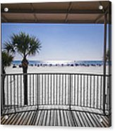 Beach Patio Acrylic Print