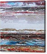 Beach Rhythms And Textures IIi Acrylic Print