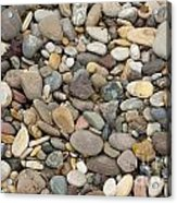 Beach Rocks Acrylic Print