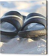 Beach Sandals 2 Acrylic Print