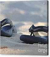 Beach Sandals 3 Acrylic Print