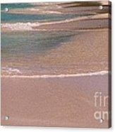 Bermuda Beach Scene # 8 Acrylic Print