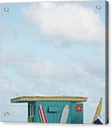 Beach Shack Acrylic Print