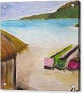 Beach Shack Acrylic Print