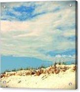 Beach Sky Acrylic Print