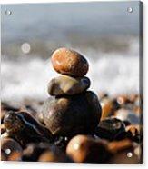 Beach Stones Acrylic Print by Ivelin Donchev