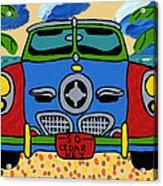 Beach Studebaker Acrylic Print