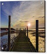 Beach Sunrise V2 Acrylic Print by Ian Mitchell