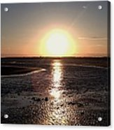Beach Sunset Acrylic Print
