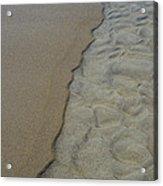 Beach Texture Acrylic Print