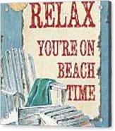 Beach Time 1 Acrylic Print