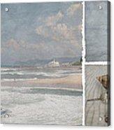 Beach Triptych 1 Acrylic Print