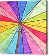 Beach Umbrella 2 Acrylic Print