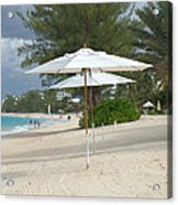 Beach Umbrellas Acrylic Print