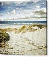Beach View Acrylic Print