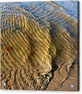 Beach Wave Pattern. Acrylic Print