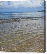 Beach Waves Tall Acrylic Print