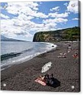Beach With A View Acrylic Print