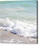 Surf And Sand Acrylic Print