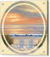 Beach World Acrylic Print
