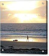 Beachcomber Encounter Acrylic Print