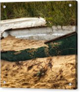 Beached Acrylic Print by Bill Wakeley