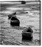 Beached Boats Acrylic Print