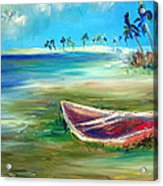 Beached Acrylic Print