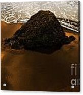 Beaches Of Gold Acrylic Print