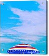 Beachtime Usa Acrylic Print