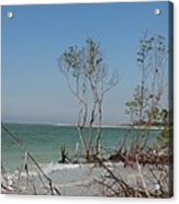Fort De Soto Beachview Acrylic Print