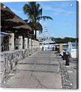 Beachwalk Acrylic Print