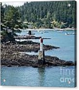 Beacon At Snug Cove Acrylic Print