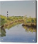 Beacon On The Marsh Acrylic Print