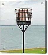 Beacon On Yarmouth Common Acrylic Print