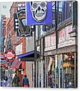 Beale Walk Acrylic Print by Suzanne Barber