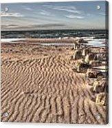 Bealtic Beach Acrylic Print