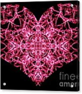 Beaming Heart Acrylic Print