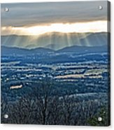 Beaming March Shenandoah Acrylic Print by Lara Ellis