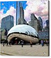 Bean There Acrylic Print