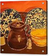 Beanpot Still Life Acrylic Print