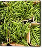 Beans Of Green Acrylic Print