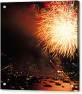 Beantown 4th Of July Acrylic Print
