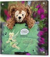 Bear And His Girl Acrylic Print