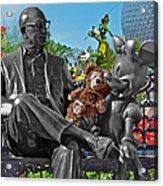 Bear And His Mentors Walt Disney World 03 Acrylic Print