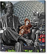 Bear And His Mentors Walt Disney World 04 Acrylic Print