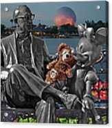 Bear And His Mentors Walt Disney World 05 Acrylic Print