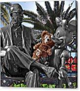Bear And His Mentors Walt Disney World 06 Acrylic Print